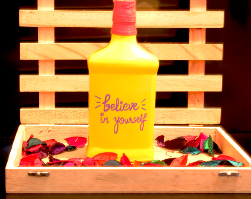 inspirational quotes bottles