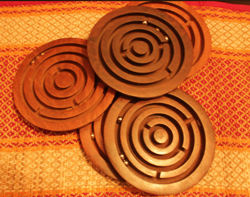 tea coasters with time pass game