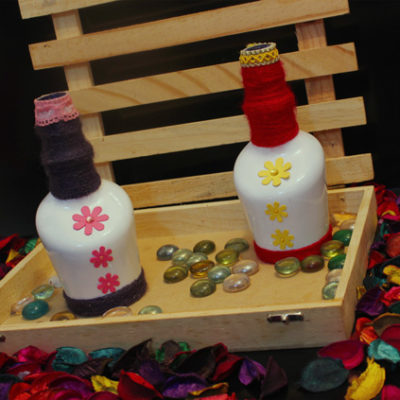 bottle set for home decor