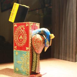 hand embossed wine box