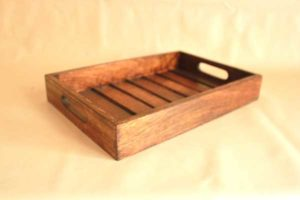 wooden tray rectangle buy online