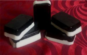 ACTIVATED CHARCOAL HANDMADE HERBAL SOAP WITH GREEN TEA & GOAT MILK