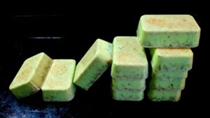 LEMON GRASS NATURAL HERBAL SOAP IN GOAT'S MILK