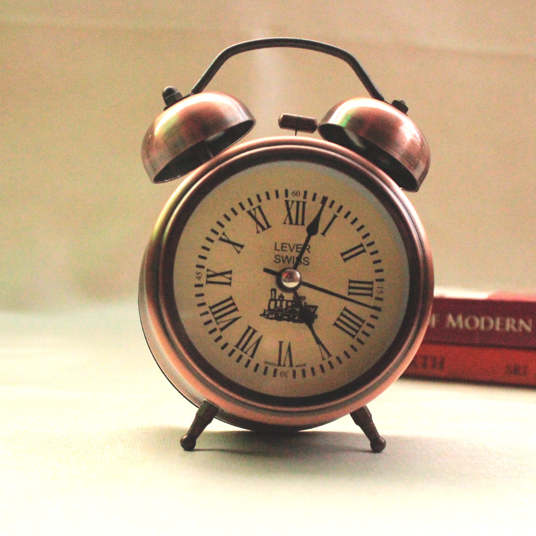 Vintage Style Alarm Clock My Indian Brand
